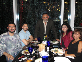 Dr. Makhlouf with his loving family